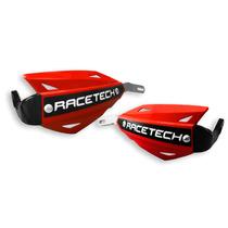 Cubre Manos Protector Puños Racetech Vertigo Aluminio Rojo