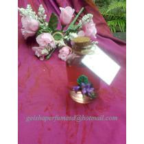 Souvenirs Mini Difusores Ambientales Con Violetas