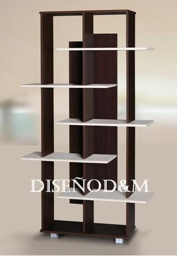 Biblioteca minimalista 3 modelos elija la suya dise o d for Muebles esquineros modernos