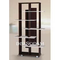 Biblioteca Minimalista 3 Modelos Elija La Suya - Diseño D&m