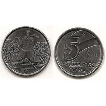 Moneda - Brasil - 5 Cruzeiros - Año 1991