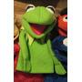 Rana René Títere Guante Marioneta, Kermit, Muppets, Sesamo