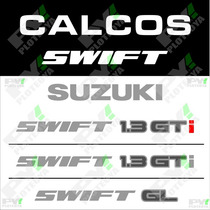 Kit De Calcos Para Suzuki Swift Porton Trasero