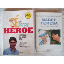 Lote De 2 Libros De Claudio Maria Dominguez