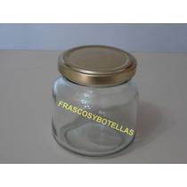 Frascos-envases Vidrio Amanecer Caramelera 250 Cc X 15 Unid.