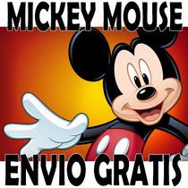 Kit Imprimible Mickey Mouse Tarjetas Cumpleaños Invitaciones