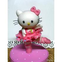 Adorno Para Torta - Hello Kitty Bailarina - Narartesana