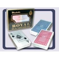 Cartas Poker + Poker + Plastico Royal Original 100% Plastico