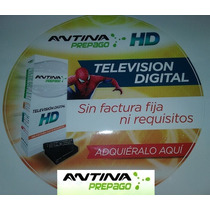 Kit Prepago Antina Tv Digital Hd !! El Unico Prepago Hd !!