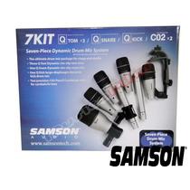 Kit Microfonos Bateria Samson Dk7 7 Microfonos Musica Pilar