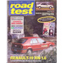 Revista Road Test Nº35 Renault 19 Rn 1.6 Peugeot 405