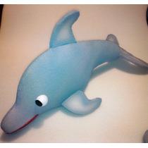 Titeres En Goma Espuma: Delfin Ideal P/ambientar Tu Espacio