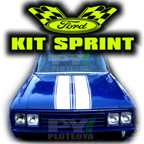 Kit Ford Falcon Sprint - Ploteo Grafica Calco Autoadhesivo