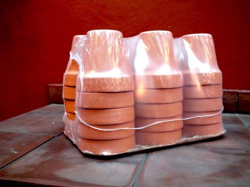 10 macetas de barro comun diametro 18 cm jardin urbano shop 360 fs2jy precio d argentina for Jardin urbano shop telefono