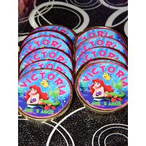 Candy Bar Personalizado Ariel La Sirenita
