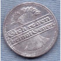 Alemania 50 Pfennig 1920 F * Republica Weimar *