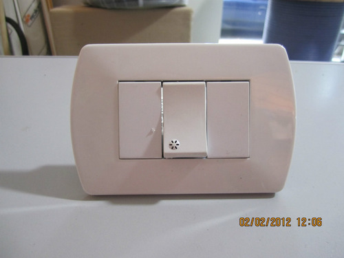 Llave de luz o interruptor 21 cr8wb precio d argentina - Llaves de luz rusticas ...