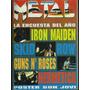 Metal 211 - Iron Maiden -poster Bon Jovi Hermética -mayo1986