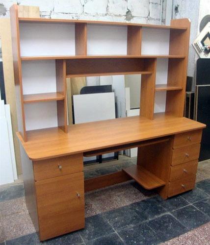 Escritorio mesa pc notebook alzada cajonera a medida - Muebles para pc de escritorio ...
