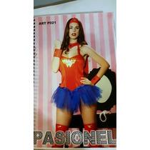 Disfraz Mujer Maravilla Pasionel.any Lenceria
