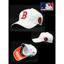 Gorra Visera Boston Red Sox Flex Fit Baseball Bo05 12