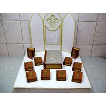 20 Cajitas Libro De Comunion Virgen Niña O Cristo