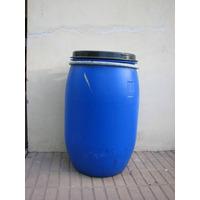 Tambor Plastico De 100 Lts Con Tapa Y Suncho