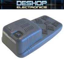 Estabilizador De Tensión 1000 Va - 6 Tomas - Prot. Internet