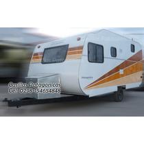 Casilla Rodante Lujo Aerodinamica Patagonica Con Garantia !!