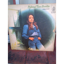 Paloma San Basilio - Contigo - Lp Disco Vinilo - Vg++