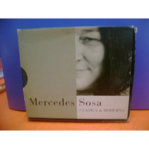 Cd - Clásica Y Moderna (2 Cds./ Digipack) Mercedes Sosa