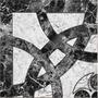 Ceramica De Alto Transito 36x36 Temple Negro 1ra Alberdi