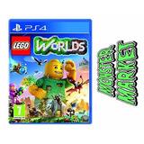 Lego Worlds Ps 4 Cd Fisico, Nuevo Sellado Español