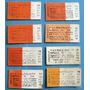 8 Boletos Tren Carton Sin Uso F.c.roca Se Vende El Lote