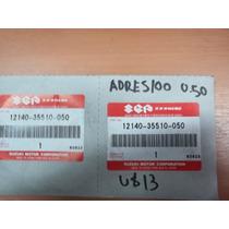 Aros De Piston Originales Suzuki Adress 100 0.50mm