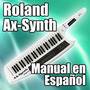 Roland Ax-synth - Manual En Español