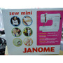 Janome Mini ***nuevo Modelo *** Ver Video Maquineriajuanma