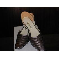 Regalo!! Fiesta O De Vestir Zapatos Cuero Peltre C/ Biyone