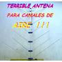 Antena Para Tv Television Canales De Aire 14 Elementos Vhf