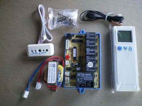 Placa universal para aire acondicionado split o compacto for Placa electronica aire acondicionado