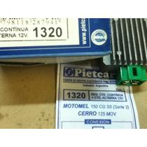 Regulador De Voltaje Motomel Cg 150 S2 - Cerro 125 Mov