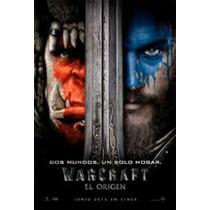 Poster Afiche Cine Original / Warcraft La Pelicula