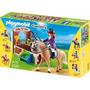 Playmobil 5520 Caballo De Exhibición Con Establo