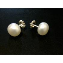 Aros De Perlas Autenticas !!