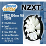 Cooler Case Fan Nzxt Fn200rb 20cm 1300rpm Rifle Bearing