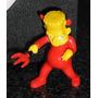 Muñeco Huevo Jack Simpsons 2009 Bart Diablo (de Los Grandes)