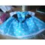 Vestidito Nena. Disfraz Minnie Color Turqueza Y Minnie Rosa