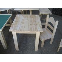 Juego de mesa y sillas infantiles para ni os chicos for Silla y mesa para ninos