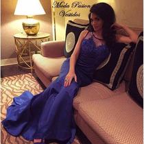 Sexy Vestido De Fiesta Gala Ajustado Espalda Moda Pasión