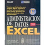Administración De Datos Con Excel - Carlberg - Prentice H